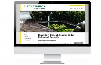 Referenzen, Baustoffhandlungen, Studio B, Website