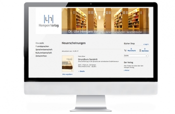 Referenzen, Hempen Verlag, Studio B, Website